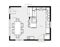 Modern Kitchen Layout Plan kitchen:delightful kitchen floor plans with dimensions 20 set u