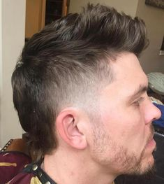 Shaved Sides Haircut For Men