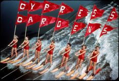 Cypress Gardens, Fla.  I was here many, many years ago but the water shows were amazing!!