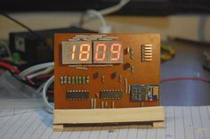 ): 11 Steps (with Pictures) Esp8266 Projects, Iot Projects, Diy Electronics, Electronics Projects, Arduino Wireless, Desktop Clock, Flash Memory, Tandem, Digital Alarm Clock