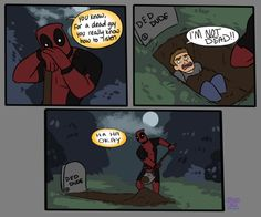 Deadpool  // funny pictures - funny photos - funny images - funny pics - funny quotes - #lol #humor #funnypictures