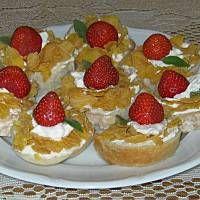 Chrupiące kanapki Pudding, Desserts, Food, Tailgate Desserts, Deserts, Custard Pudding, Essen, Puddings, Postres