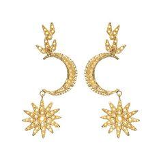 Atria Earrings Gold | Christie Nicolaides