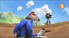 SHADOW IS IN THE SONIC BOOM T.V~!!!!! by NinixShadow on DeviantArt