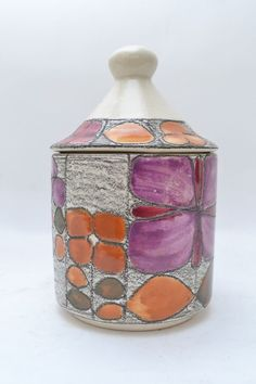 Vintage Lidded Pot by Eduardo Vega , Ecuador | eBay