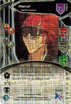 Bleach Trading Card Game Promo Foil Card Renji Determined * Click image to review more details.