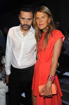 Anna dello Russo Photos - Fabio Novembre and Anna Dello Russo attend Diesel Black Gold show during Milan Menswear Fashion Week Spring Summer 2014 on June 2013 in Milan, Italy. - Front Row at Diesel Black Gold Milan Men's Fashion Week, Mens Fashion Week, Gold Fronts, Anna Dello Russo, Ermanno Scervino, John Varvatos, Front Row, Diesel, Cool Outfits