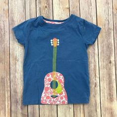 Toddler MINI BODEN Guitar Applique T Shirt SIZE 3-4 Y K-50   Clothing, Shoes & Accessories, Baby & Toddler Clothing, Girls' Clothing (Newborn-5T)   eBay!