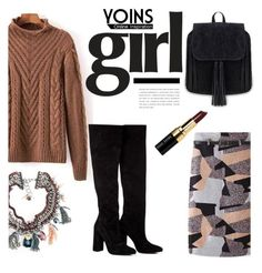 """""""Yoins Girl"""" by deeyanago ❤ liked on Polyvore featuring мода, Anouki, Bobbi Brown Cosmetics и yoins"""