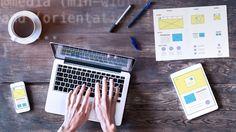 Webdesigner sketching responsive website wireframe mockup with. Marketing Guru, Internet Marketing, Digital Marketing, Affiliate Marketing, Media Marketing, Php, Mobile Application Design, Custom Web Design, Build Your Brand