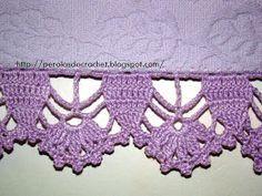 Learn to Crochet – Crochet Wave Fan Edging. Crochet Boarders, Crochet Lace Edging, Crochet Trim, Love Crochet, Crochet Gifts, Beautiful Crochet, Easy Crochet, Crotchet Patterns, Crochet Stitches Patterns