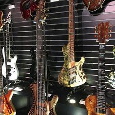 @bassmusicianmag ESP bass #bassmusicianmag #namm2017 #espguitars #BassMusicianMag