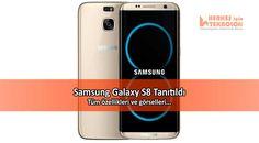 Samsung, düzenlediği etkinlik kapsamında merakla beklenen yeni üst seviye akıllı telefonu Galaxy S8'i tanıttı. İşte özellikleri...