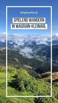 Hier findet ihr Spieletipps für eure nächste Familienwanderung in Wagrain-Kleinarl. Viel Spaß beim Wandern und Natur genießen. #bloghuette Helpful Hints, Activities, Mountains, Nature, Travel, Hiking, Pictures, Useful Tips, Naturaleza