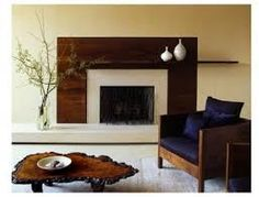 Image result for asymmetrical balance bedroom fireplace
