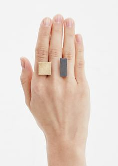 Amazing minimal ring. Great design and still a statement piece you can use for many different occasions.