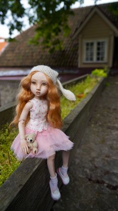 """BJD doll, 11 inch, porcelain made by Olga Good mold """"Sweetest Perfection"""" Bjd Dolls, Ball Jointed Dolls, Doll Face, Harajuku, Cool Photos, Porcelain Doll, Asian, Artists, Accessories"""