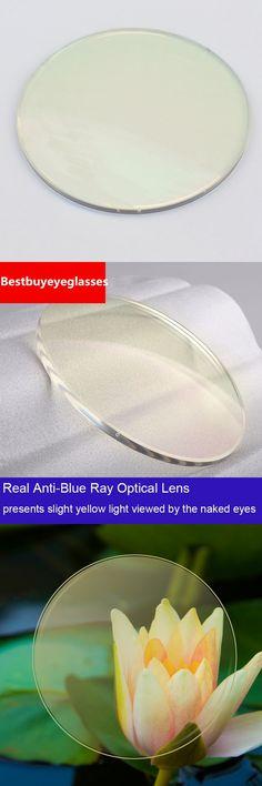 1.56 Anti Blue Rays lens Prescription Eyeglass Lens For Computer Glasses Reading myopia lens light yellow Blue Ray Cut