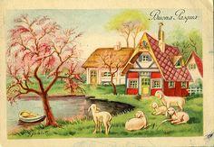 Buona Pasqua dagli anni '50   Flickr - Photo Sharing!