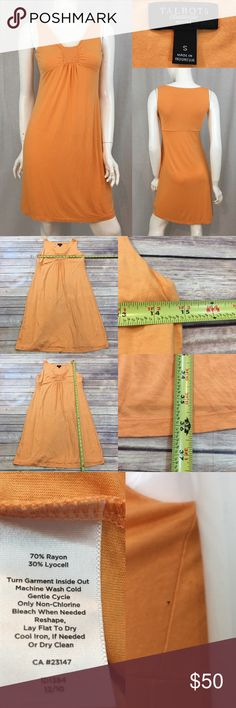 💋Sz Small Talbots Petite V-Neck Orange Slip Dress Measurements are in photos. Normal wash wear, has a snag hole on the side, no other flaws. F2/54  I do not comment to my buyers after purchases, due to their privacy. If you would like any reassurance after your purchase that I did receive your order, please feel free to comment on the listing and I will promptly respond.   I ship everyday and I always package safely. Thank you for shopping my closet! Talbots Dresses