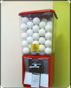 Our ping pong ball dispenser - really nifty!Our ping pong ball dispenser - really nifty!Our ping pong ball dispenser - really nifty! Our ping pong ball dispenser - really nifty! You are in the right place Teen Basement, Game Room Basement, Man Cave Basement, Basement House, Basement Ideas, Playroom, Rustic Basement, Ping Pong Bar, Ping Pong Room