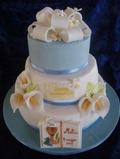 torta prima comunione bambino - Cerca con Google