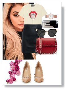 Kylie style maybe????? by fatenicon1989 on Polyvore featuring mode, Dsquared2, McQ by Alexander McQueen, Valentino, Larsson & Jennings, Fendi and Justin Bieber