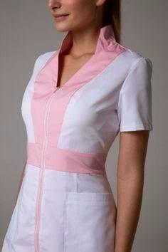 uniformes de estetica - Búsqueda de Google Spa Uniform, Uniform Design, Medical Scrubs, Action Poses, Filipina, Work Wardrobe, Chef Jackets, Casual Outfits, Dresses For Work