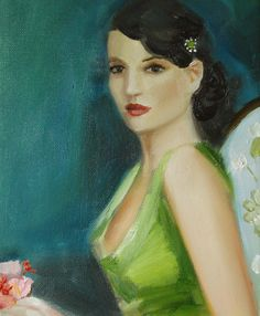 A Portrait of Ms Beauchamp Open Edition Print by janethillstudio, $26.00