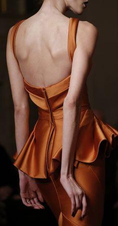 Zac Posen F/W 2013, New York Fashion Week