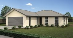 Flaxmere - Versatile Homes & Buildings New Zealand, Building A House, Entrance, House Plans, Garage Doors, Floor Plans, Layout, House Design, Flooring