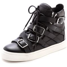 Those shoes are so crazy hot, they're wearing a straight jacket