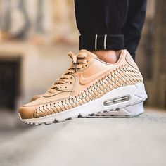 Nike Air Max 90 Woven  Vacchetta Tan  available in-store and online   titoloshop Berne  cdd53f08f