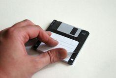 El disquete negro