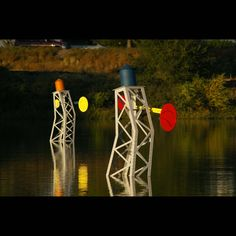 Arts and Venue Denver | Public Art | Denver Public Art Collection | Aqua Golf  Conor Hollis  Steel