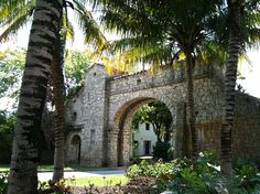 Coral Gables Historic Alhambra Entrance