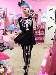 Pastel Goth. Amé el outfit *-*