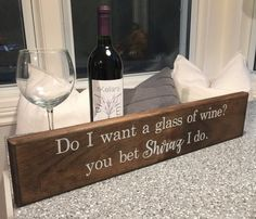 Funny Sign - Wine Lovers - Funny Kitchen Sign - Wineo - Wine Decor