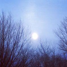 The #moon is a lightbulb #breaking. #elliottsmith #nature #nightsky