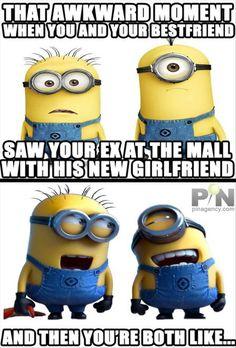 funny minions ex