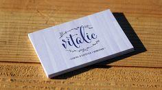 Bussines Card for VITALIC | www.vitalic.cat