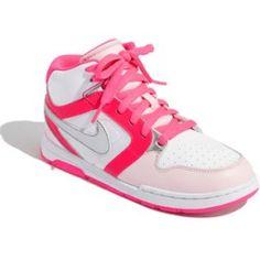 Nike 'Mogan Mid 3' Sneaker (Toddler, Little Kid & Big Kid) Pink Flash/ Prism Pink/ White   www.grabevery.com