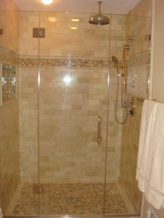 Crema Marfil Marble Bathroom