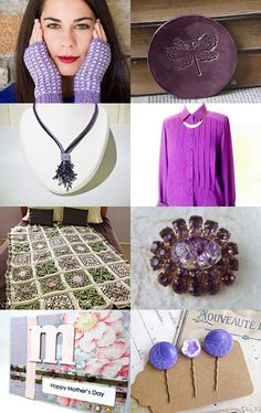 Pretty Purple by Amy DeLong on Etsy--Pinned with TreasuryPin.com Spring Sale, Washer Necklace, Amy, Great Gifts, Gift Ideas, Purple, Pretty, Fashion, Moda