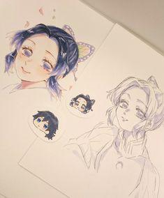 Demon Slayer: Kimetsu no Yaiba, Giyu / Shinobu, Giyu Tomioka / きめつつついろぐ 10 - pixiv Anime Eyes, Manga Anime, Anime Art, Demon Slayer, Slayer Anime, Overlays Picsart, Sailor Moon Manga, Art Inspiration Drawing, Dibujos Cute