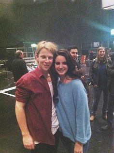 Lana Del Rey and Tom Odell  Two  of my favorite singers!