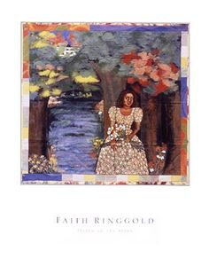 Listen to the Trees Faith Ringgold Fine Art Print Poster