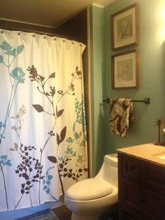 Best Color Shower Curtain For Small Bathroom