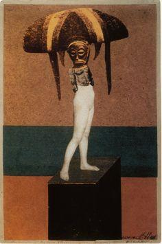 (cadavre faux) Hannah Höch, Monument II, 1926. collage. via Dada Archives.