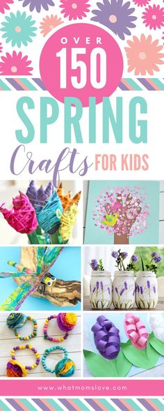 The Epic Collection Of Spring Crafts For Kids - All The Best Art Projects & Activities To Celebrate The Season